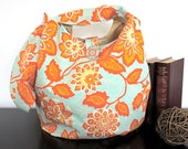 Robins Egg Blue Hobo Sling Bag Adjustable Messenger Sling Bag or Shoulder Bag