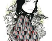 Sarah - Print