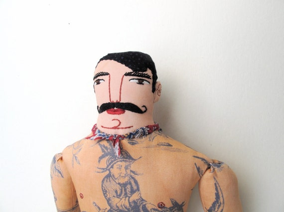 Handsome Tattoo Man