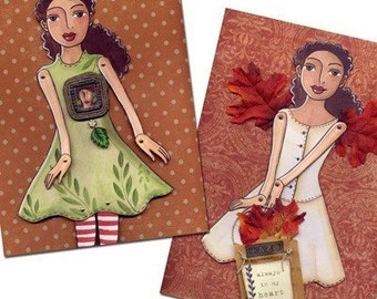 Printable Paper-doll Fairy PDF Download