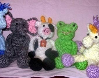 Floppy Friends 2 Crochet pattern
