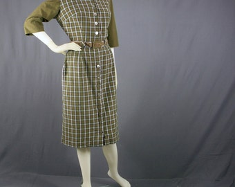 1950s two piece dress set by Patty Woodard