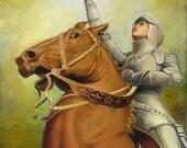 Joan of Arc - The Maid of Orléans - 11x14 Print