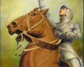 Joan of Arc - The Maid of Orléans 5x7 Greeting Card