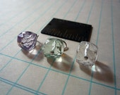 Add a Charm - Faceted Gemstone Cube