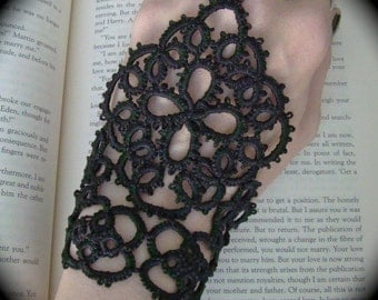 Tatted Slave Bracelet - The Queen's Hand