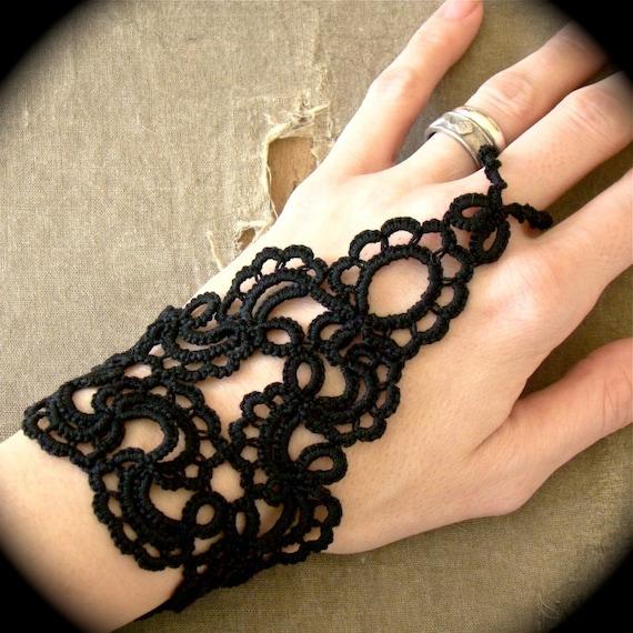 Tatted Slave Bracelet - Forever Scrolling