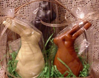 PDF  E Pattern INSTANT DOWNLOAD Chocolate Bagged Bunnies