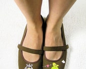 Love Birds Shoes Size 7