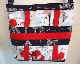 Dreaming of Paris Tote Bag purse  Gift