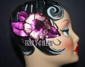 Pretty in PINK hair clip fascinator