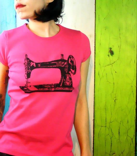 Items similar to sewing machine tshirt diyer gift screen
