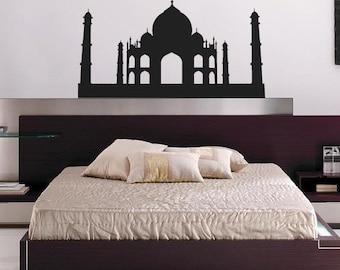 Large Taj Mahal Vinyl Wall Decal
