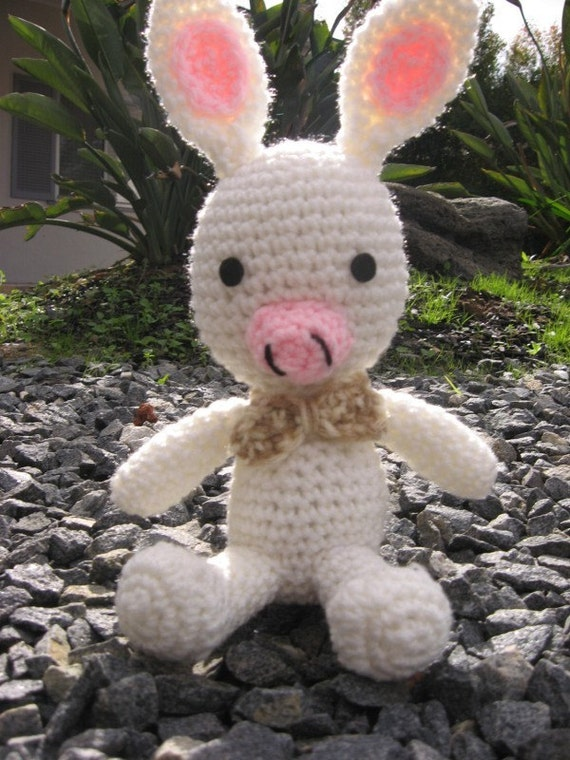 Pig Rabbit Plush - Small Version