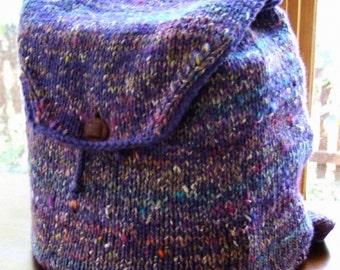 Serendipity Backpack Knitting Pattern (pdf)
