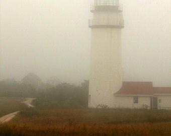 a foggy day in Truro 8X10