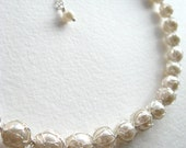 Captured Pearl Necklace - Silver