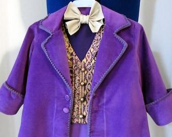 Custom Made Willy Wonka Costume
