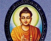 Buddha Necklace Siddhartha Buddhism Pendant Necklace Religion The Enlightened One