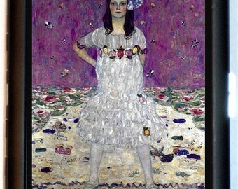 Young Woman in Purple Striking Fine Art Cigarette Id Case Business card Holder Wallet