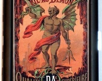Demon Devil Victorian Cigarette Case Business Card Case Holder Wallet