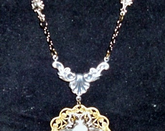 Victorian Steampunk THE INDULGENT INSECT Necklace Pendant