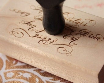 Calligraphy Stamp - Extra Large