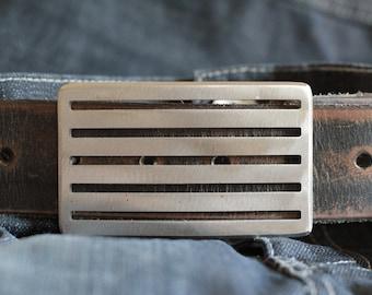 Three O Belt Buckle by Foster Weld