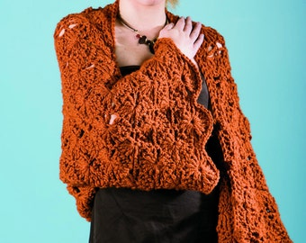 SunRays Shrug & Shawl Crochet Pattern