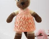 Siamese Kitty Knitting Pattern