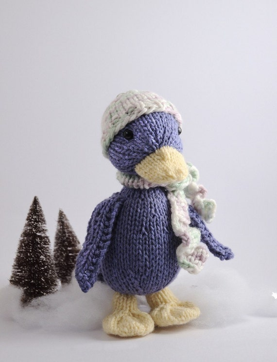 Duck Knitting Pattern : Silly Duck Knitting Pattern