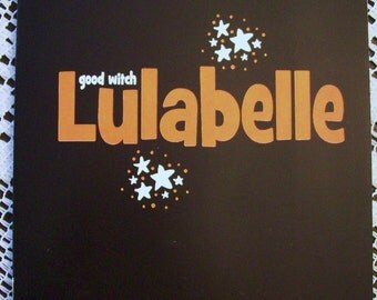 GOOD WITCH LULABELLE Halloween Kids Book Written and Illustrated by me