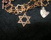 Steam Punk Judaica Bracelet Number 2 -- NEW GeNRE - Judaicaonetsy, etsyChai, trashionteam, OlympiaEtsy, WWWG