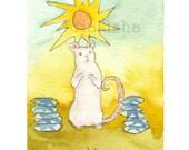 TaRat - The Rat Tarot - Original Art - 10 of Pentacles