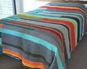 Mid-Century Modern Quilt - Made to order