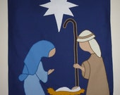 Nativity  flag Mid Size