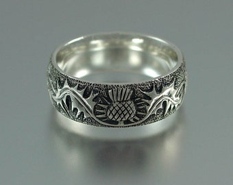 THISTLE silver band