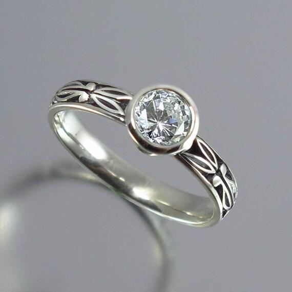 AUGUSTA 0.45ct Diamond 14K gold engagement ring