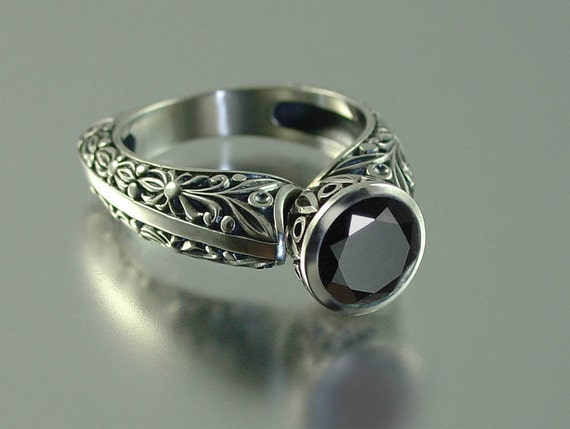 THE BLACK COUNTESS silver ring