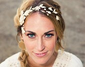 Ivory Floral Evolution Headpiece