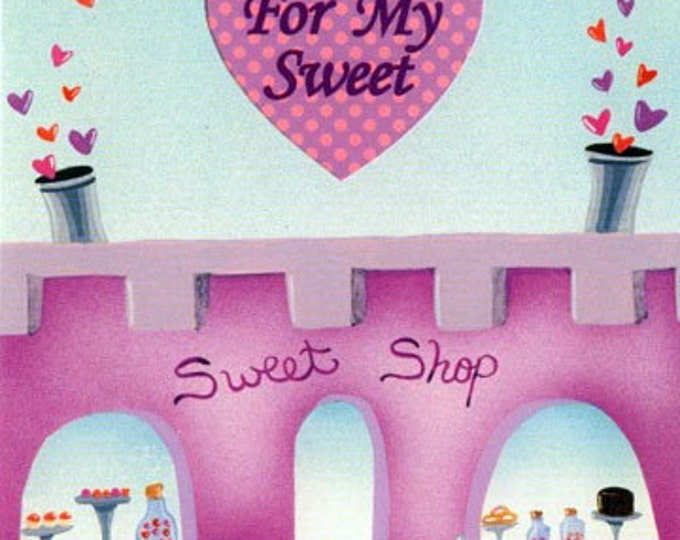 VALENTINE CARD  A gift certificate for SWEETS