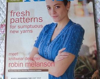Interweave Knits Magazine - Spring 2006 Issue