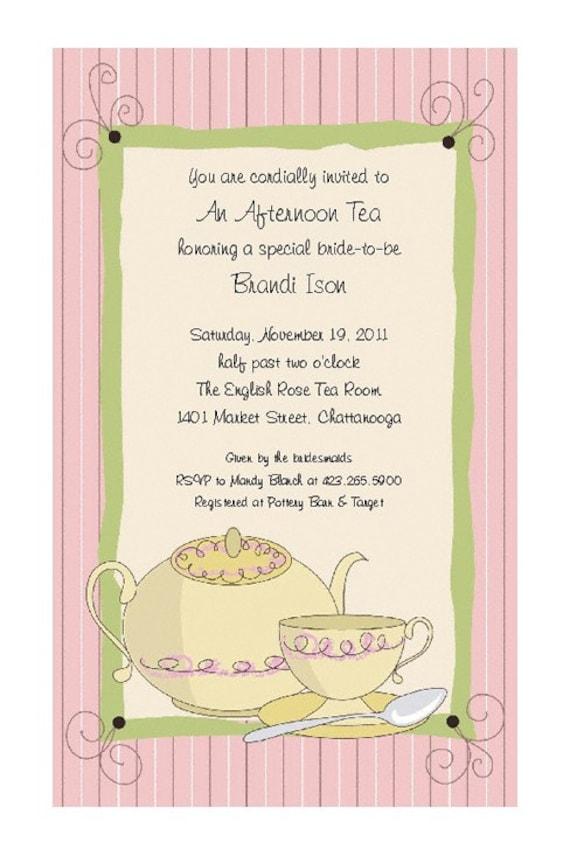 Similiar Ladies Tea Party Invitation Wording Keywords – High Tea Party Invitation Wording