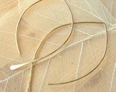 "Leaf Silhouette Earrings - 3"""