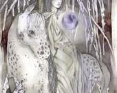Low Waters - Faerie / Magical / Fantasy Art Print