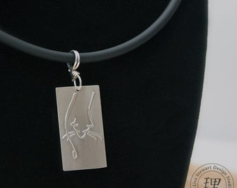 Sterling Silver Bacchus Pendant