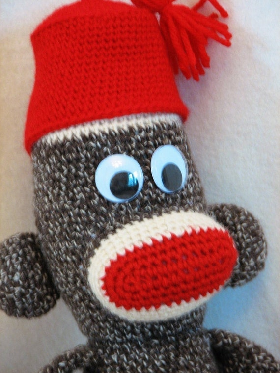 Free Pattern Amigurumi My Little Pony : PDF Big Crocheted Sock Monkey Amigurumi Crochet by ...
