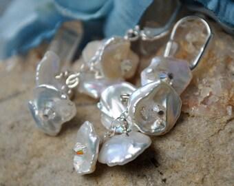 Keshi Bell Earrings