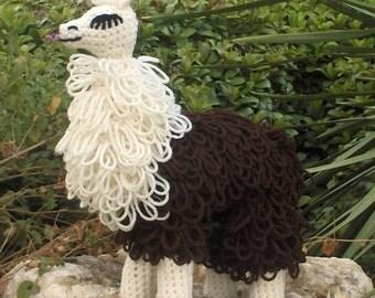 Lloopy Llama crochet pattern PDF