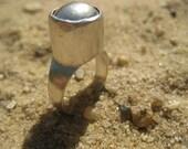 Gris-Gris Silver Amulet Ring